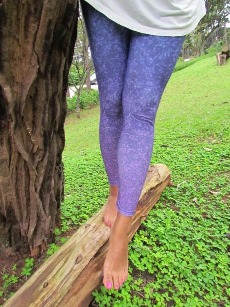 Legging Art Nouveau